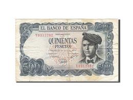 Espagne, 500 Pesetas, 1970-1971, KM:153a, 1971-07-23, TB - [ 3] 1936-1975 : Regency Of Franco