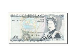 Grande-Bretagne, 5 Pounds, 1971-1982, KM:378f, 1988-1991, TTB+ - 1952-… : Elizabeth II