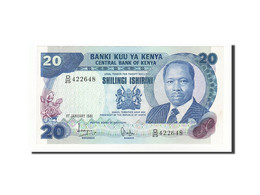 Kenya, 20 Shillings, 1981-87, KM:21a, 1981-01-01, SPL - Kenya