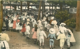 03 VICHY. Parc. Bal D'Enfants 1912. Timbre Manquant... - Vichy