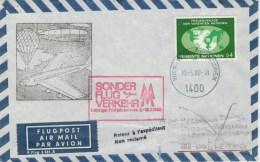 LETTERA  D  WIEN  PER  LEIPZIC DDR      (VIAGGIATA) - 1971-80 Storia Postale