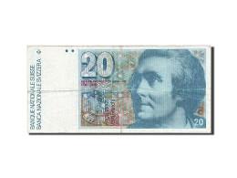 Suisse, 20 Franken, 1976-1979, KM:55c, 1981, TB - Suisse