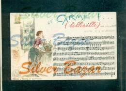 CANZONE NAPOLETANA-FOLCLORE- A. CALIFANO - A. DE CRISTOFORO  - CARME' - LILLIRILLI - NAPOLI - - Musica E Musicisti