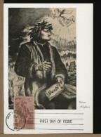 USA -    DANTE  ALIGHIERI   -   La Divina Commedia  -   RITRATTO - Famous People