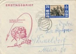 LETTERA  DA  MALCHIN  PER  DUSSELDOF       (VIAGGIATA) - [6] Repubblica Democratica