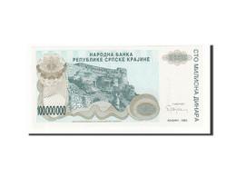 Croatie, 100 Million Dinara, 1993, KM:R25a, 1993, NEUF - Croatia