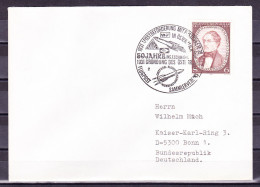 B-1599, Österreich, Stempel: 1931 1. Postbeförderung Mit Postrakete In Österreich, Brief Nach Deutschland - Poststempel - Freistempel