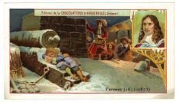 Chromo Chocolat Aiguebelle, Les Enfants Célèbres, Turenne (1611-1675) - Aiguebelle