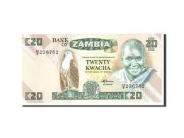 Zambie, 20 Kwacha, 1980, KM:27e, Undated, NEUF - Zambie