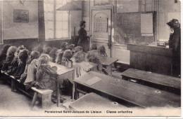 8534. CPA 14 LISIEUX PENSIONNAT SAINT JACQUES CLASSE ENFANTINE - Lisieux