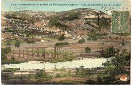 SALVAGNAC - CAJARC - Vue D' Ensemble - Chateau Fortifié    (86400) - Andere Gemeenten
