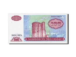 Azerbaïdjan, 100 Manat, Non Daté (1993), KM:18b, NEUF - Azerbaïdjan
