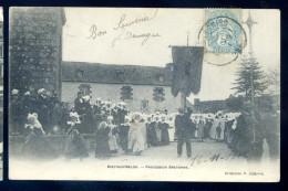 Cpa Du  29  Riec Sur Belon -- Procession Bretonne    LIOB44 - France