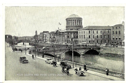 Dublin. Four Courts And River Liffey. - Dublin