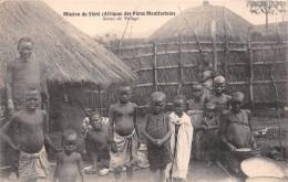 ¤¤   -   Mission Du SHIRE Des Pères Montfortains  -  Scène De Village     -  ¤¤ - Postcards