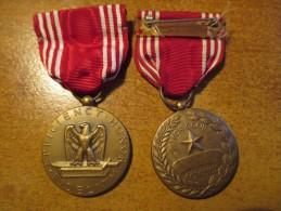 """Médaille US Originale 2eme Guerre """"GOOD CONDUCT"""" - 1939-45"""