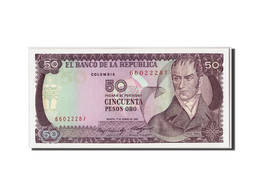Colombie, 50 Pesos Oro, 1985, KM:425a, 1985-01-01, NEUF - Colombie
