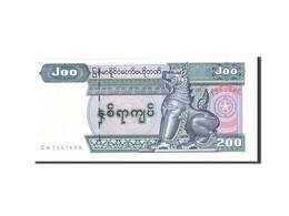 Myanmar, 200 Kyats, 2004, KM:78, Undated, NEUF - Myanmar