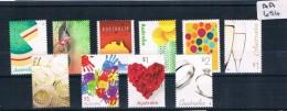 Australia 2016 Love To Celebrate 10val Sheet Muh  AA654 - 2010-... Elizabeth II