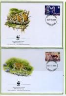 2004 - SIERRA LEONE -  Mi. Nr. 4694/4697 - OFFICIAL FDC - (CAT 2016.1 WWF) - Sierra Leone (1961-...)