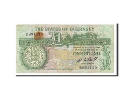 Guernsey, 1 Pound, 1980, KM:48a, Non Daté (1980-1989), TB - Guernesey