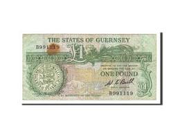 Guernsey, 1 Pound, 1980, KM:48a, Non Daté (1980-1989), TB - Guernsey