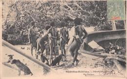 ¤¤   -   NOUVELLES-HEBRIDES  -   Marchands De Porcs     -  ¤¤ - Vanuatu
