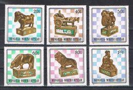 SB34 - Mongolei - Mongolische Schachfiguren - Chess