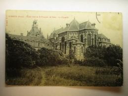 Carte Postale Evreux Ecole Libre De St François Sales La Chapelle ( Circulée) - Evreux