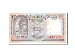 Népal, 10 Rupees, 2005, KM:54, Undated, NEUF - Nepal