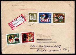 A3925) Bund R-Brief Von München 30.9.63 Mit Mi.408-411 - Briefe U. Dokumente