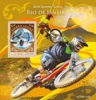 Sierra Leone 2016, Olympic Games In Rio, Swimming, Mountain Bike, BF - Mountain Bike