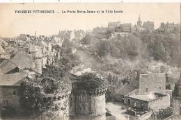 FOUGERES  La Porte Notre Dame La Ville Haute   Timbrée  Excellent état - France