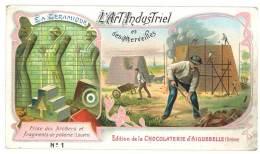 Chromo Chocolat Aiguebelle, L'Art Industriel Et Ses Merveilles, La Céramique - Aiguebelle