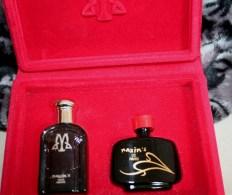 """COFFRET """"M"""" De 2 Miniatures De PARFUMS MAXIM'S Non Ouvertes """"Eau De Parfum 4ml"""" Eau De Toilette 7,5ml"""" - Miniatures Anciennes (jusque 1960)"""