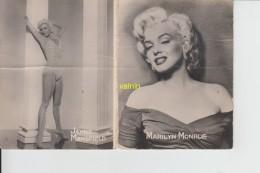 Café Tabac Billaut Wavrin Nord  Marilyn Monroe  Jayne Mansfield - Calendriers
