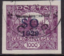 Eastern Silesia S.O. 1920 Sc 21 Used - Tchécoslovaquie