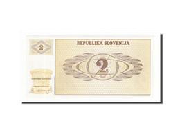 Slovénie, 2 (Tolarjev), 1990-1992, KM:2a, Non Daté (1990), NEUF - Slovénie