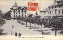 C    Place De L'Hotel De Ville Um 1910 - Annemasse