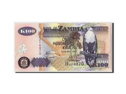 Zambie, 100 Kwacha, 2005, KM:38e, Non Daté, NEUF - Zambie