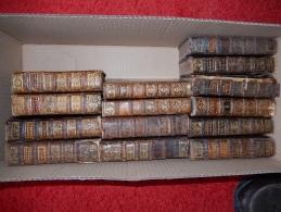 LOT DE 14 VOLUMES XVIII° ( RELIGIEUX) RELIURE ANCIENNE - Books, Magazines, Comics