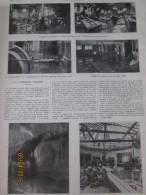1910 PARIS INONDATIONS   L Imprimerie Et Bureau Du Journal L Illustration   Paris Inondé 9 Photos Journalisme - Sin Clasificación