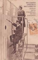 MULHERES OBREIRAS BRITANNICAS PINTANDO MARCAS D'IDENTIFICACAO NAS AZAS D'AEROPLANOS 1918 - Guerre 1914-18