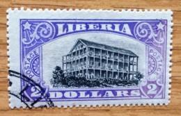 1918 Liberia Used  Stamp 2 Dollar   No LB-118 - Liberia