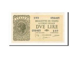 Italie, 2 Lire, 1944, KM:30b, 1944-11-23, SPL - Regno D'Italia – 2 Lire