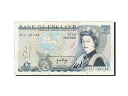 Grande-Bretagne, 5 Pounds, 1971-1982, KM:378b, 1973-1980, TB - 1952-… : Elizabeth II
