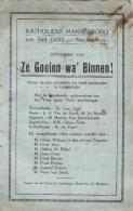 MECHELEN  KATHOLIEKE MANNENBOND Van Sint Jans 1930 - Programmes