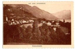 Cpa   Le Lac D'Annecy    Talloires   Edition Spéciale De La Cie Des Bateaux à Vapeur TBE - Talloires