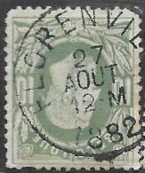 6Wz-231: N°30: E9: FLORENVILLE  ... Met Korte Hoek.. - 1869-1883 Leopoldo II