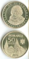 50 BANI 2016 ROMANIA COMMEMORATIVE COIN UNCIRCULATED FROM ROLL VERY RARE - Romania